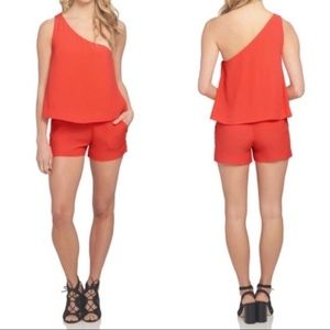 NWT 1.State One Shoulder Romper